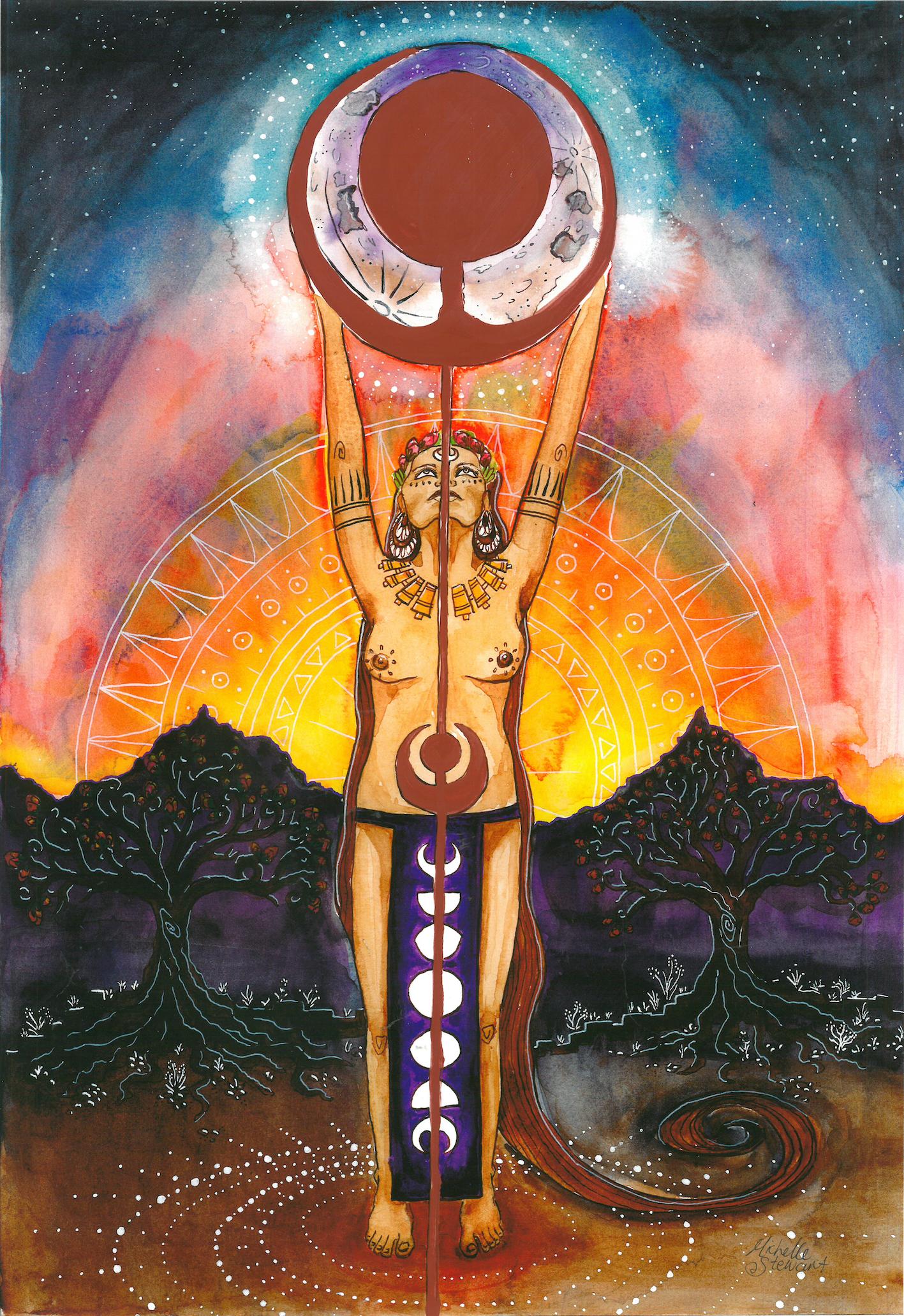 Menarche Goddess Ritualized